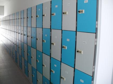 Laminated Lockers